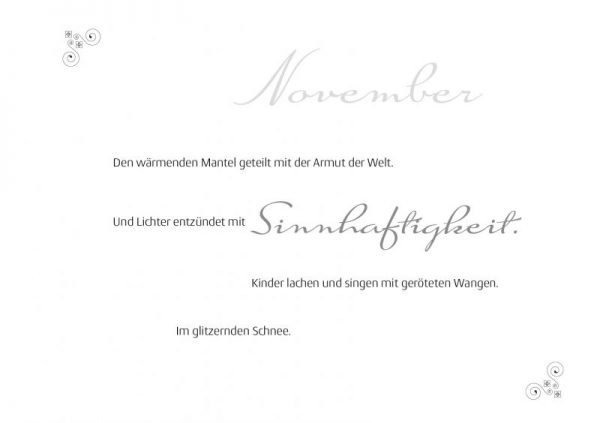 Monte-November-Gedicht